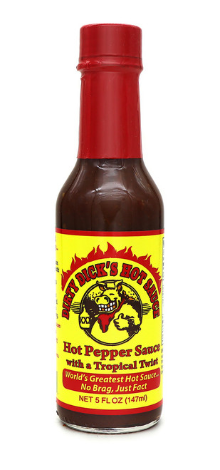 Dirty Dick's / Hot Pepper Sauce with a Tropical Twist