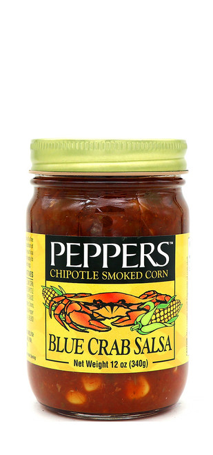 Peppers / Blue Crab Chipotle Smoked Corn Salsa