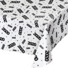 2020 All over Print Clear Plastic Table Cover Tablecloth New Years Eve Graduation