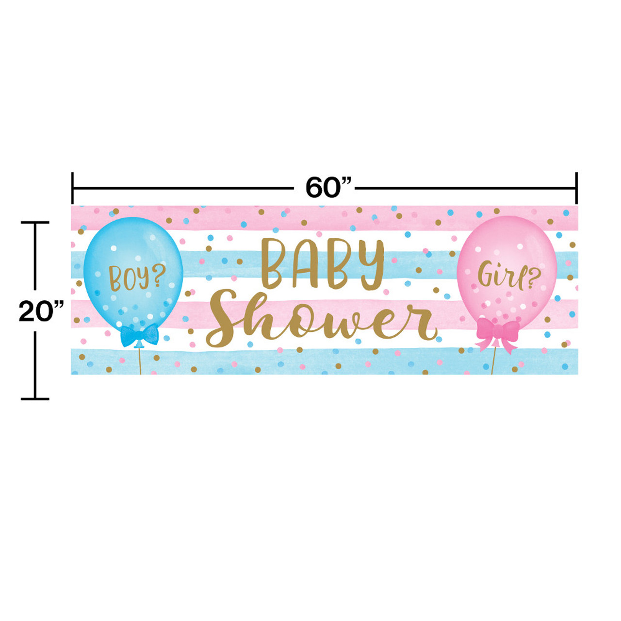 Baby Me  Tablecover  For Girl or Boy   Baby Shower 1ct