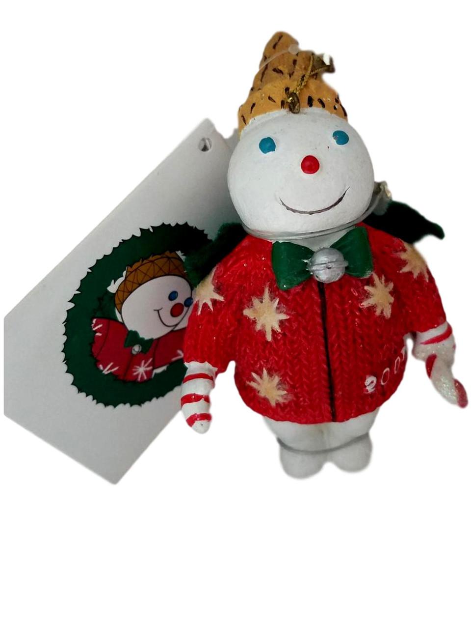 Mr Bingle 2007 Christmas Ornament Dillards New In Box