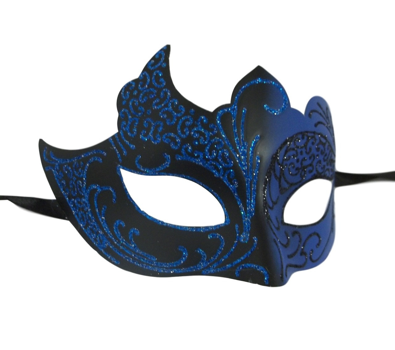 U306 Ambrosia Dark Blue Masquerade Mask
