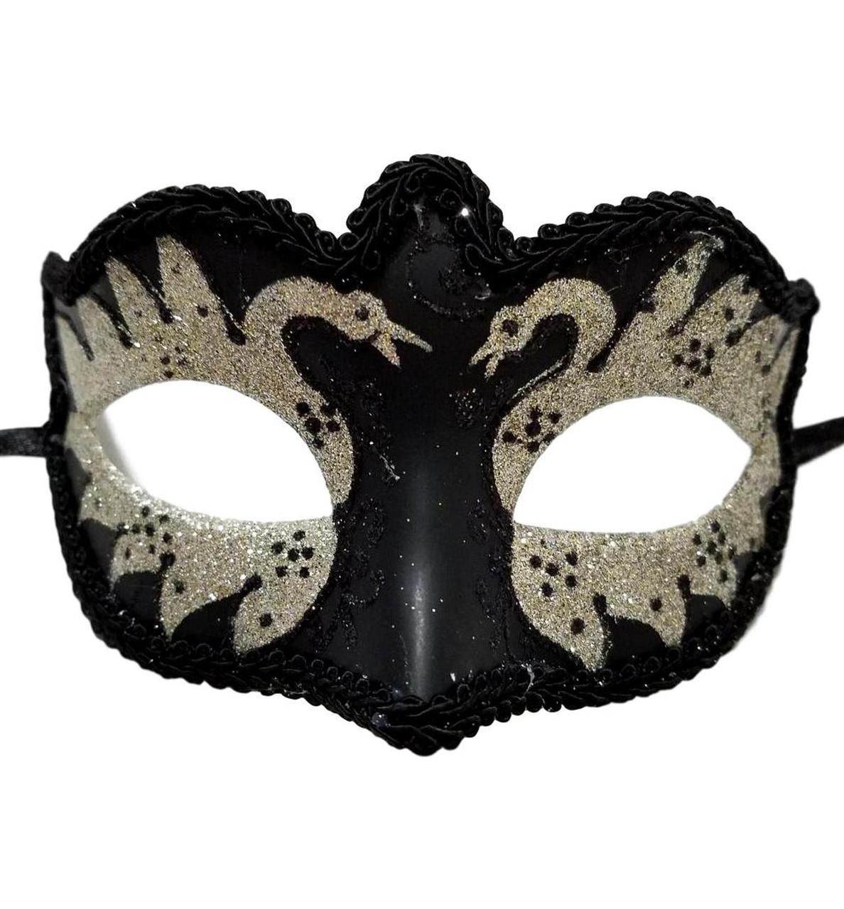 Purple Silver Gray Scroll Mardi Gras Masquerade Small Teen Kid Mask