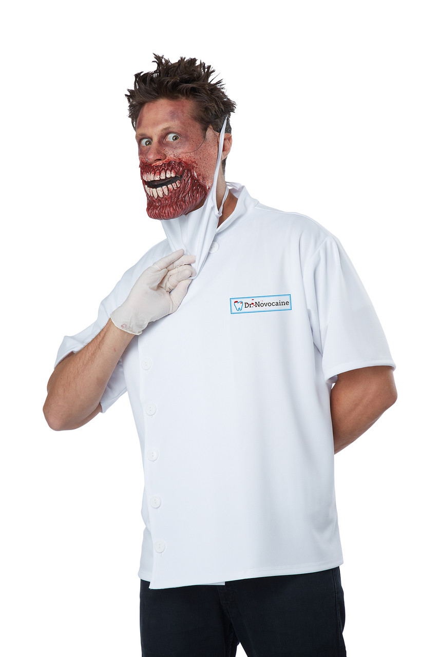 Halloween Costumes Scary Men.Dr Novocaine Halloween Costume Adult Men L Xl 42 46 Scary Doctor