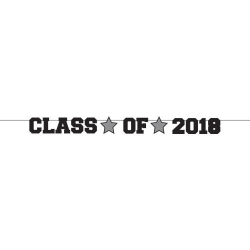 Class of 2018 Black Ribbon Banner