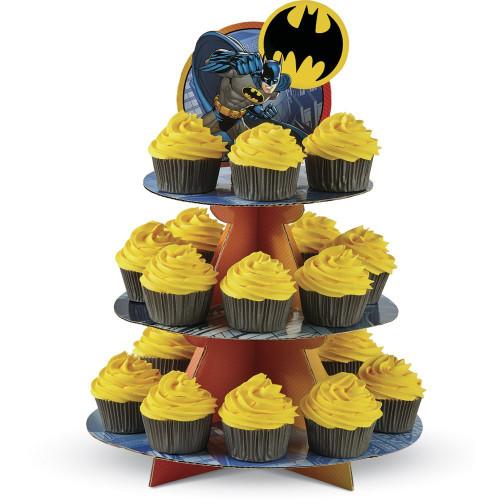 Batman Cupcake Treat Stand Holds 24 Cupcakes Wilton