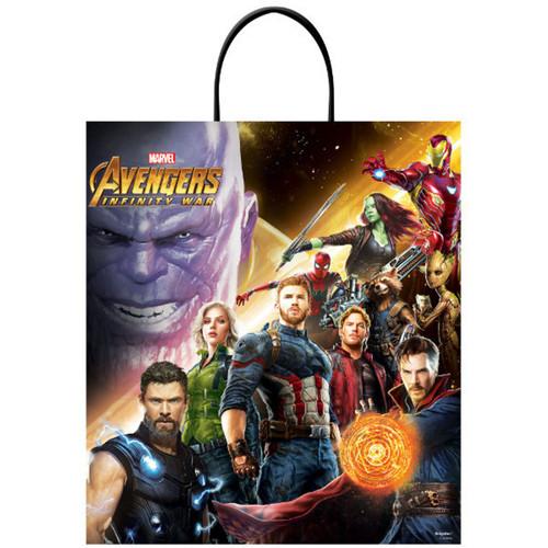 """Deluxe Avengers Infinity War Halloween Treat Loot Tote Bag 16"""" x 14"""""""