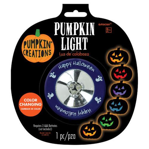 Color Changing Pumpkin Light Indoor Outdoor 7 LED Lights