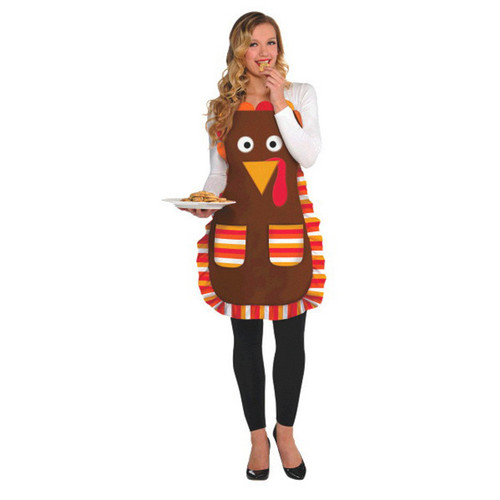 Thanksgiving Turkey Apron Standard Size