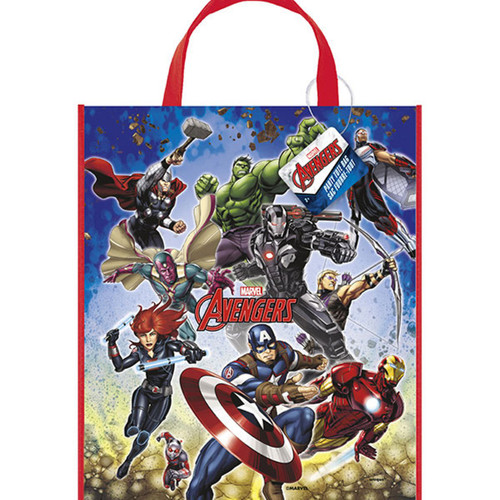 """Avengers Loot Favors Large Party Tote Bag 13"""" x 11"""""""