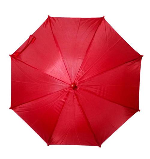 "Red Second Line Parasol 16"" or Kids Umbrella"
