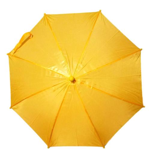 "Yellow Second Line Parasol 16"" or Kids Umbrella"