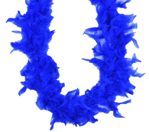 Royal Blue 45 Gm 2 yds Dress Up Costume Chandelle Feather Boa