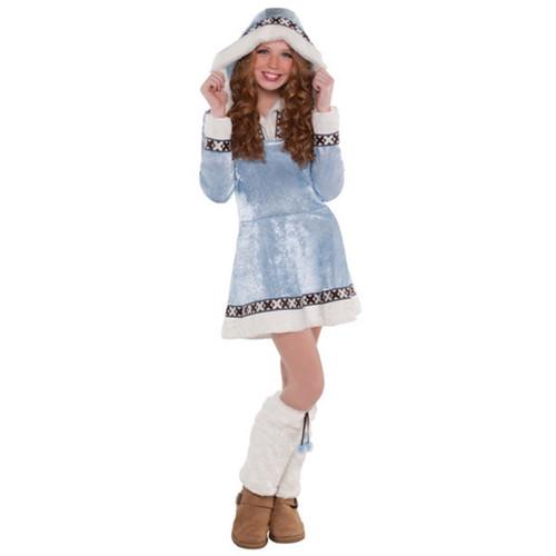 Arctic Winter Princess Girls Child XLarge 14 - 16 XL Costume