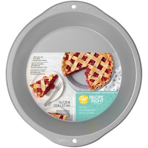 Wilton Receipe Right 9 Inch Pie Pan Non Stick