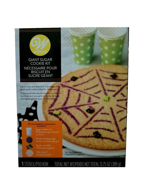 Halloween Spiderweb Giant Sugar Cookie Kit Wilton