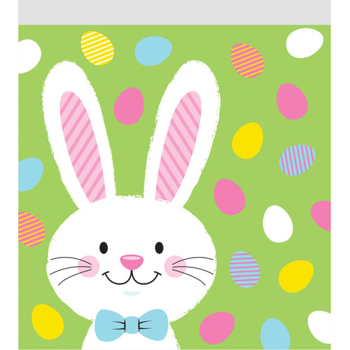 Easter Bunny and Eggs 10 Ct Sandwich Bags with Zipper