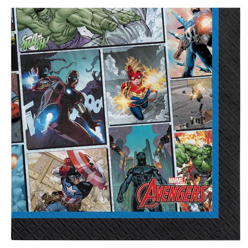 Avengers Powers Unite 16 Ct Luncheon Napkins