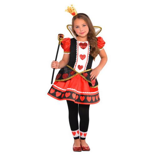 Queen of Hearts Halloween Costume Girls Large 12 - 14