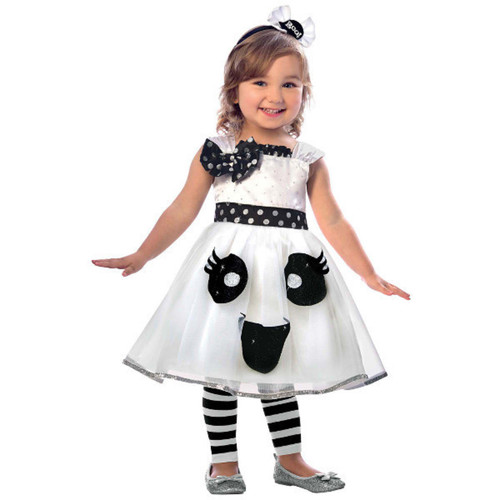 Cute Ghost Costume Girls Infant 12-24 Months with Headband