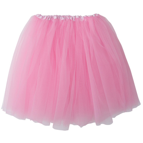 Adult Pink Ballet Tutu 3 Layer Soft Tulle Women Teen