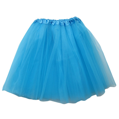 Adult Turquoise Ballet Tutu 3 Layer Soft Tulle Women Teen