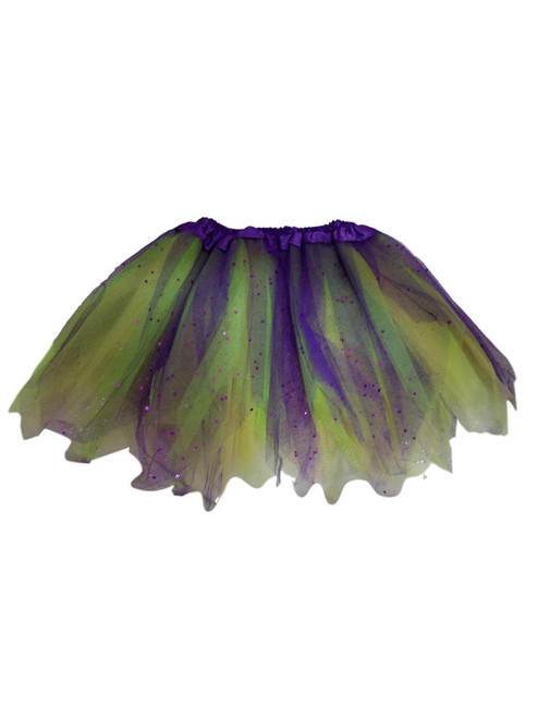 Girls Child Mardi Gras Ballet Tutu 3 Layer Soft Tulle