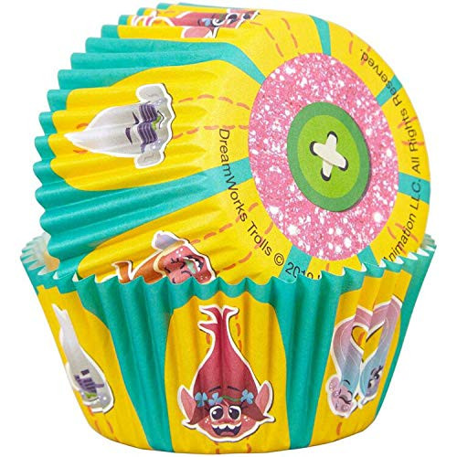 Trolls 50 Baking Cups Party Cupcakes Treats Wilton