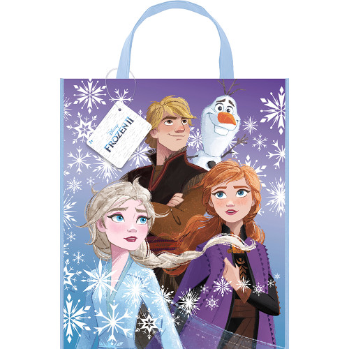 """Frozen Large Party Tote Bag 13"""" x 11"""" for Favors Loot"""