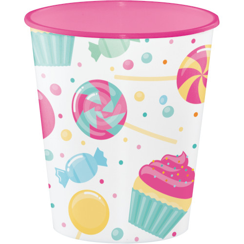 Candy Bouquet Birthday Party Favor 12oz Cup 1 Ct