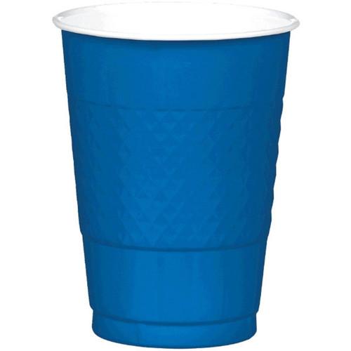 Bright Royal Blue 16 oz Plastic Cups 20 ct