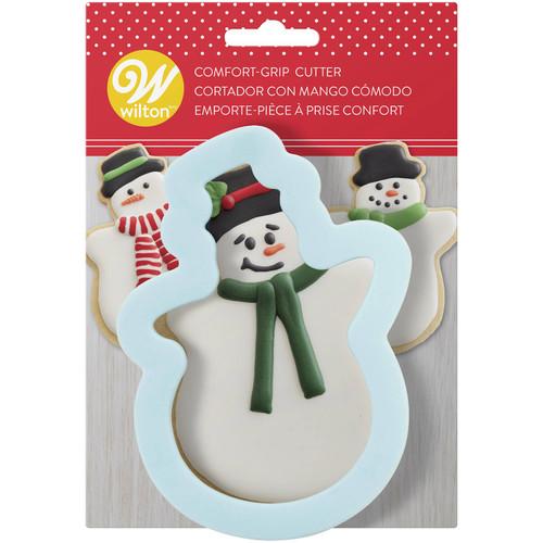 Snowman Comfort Grip Cookie Cutter Wilton Winter Christmas