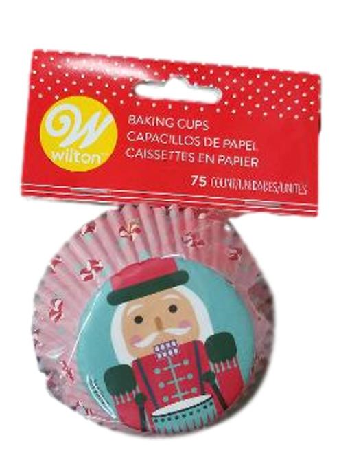Nutcracker 75 Ct  Baking Cups Cupcake Liners Wilton
