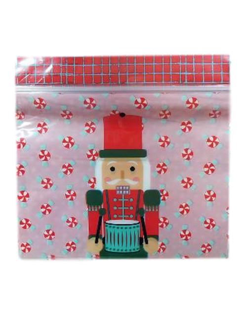 Nutcracker Resealable Treat Sandwich Bags 20 Ct  Wilton