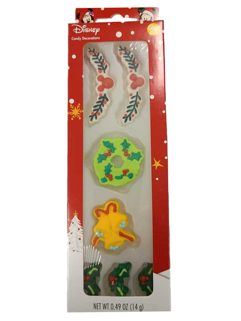 Mickey Outdoor Gingerbread House Icing Candy Decorations Wilton