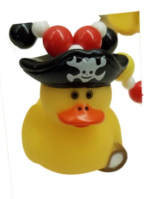 Pirate Captain Ducks Mardi Gras Beads Necklaces Party Favors