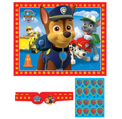 Paw Patrol Party Game 16 guest
