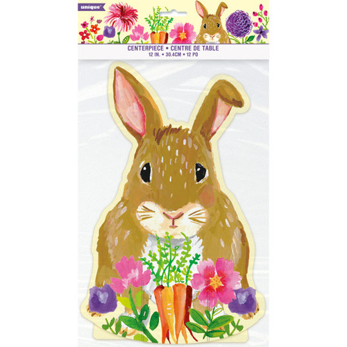 Floral Easter Bunny Centerpiece 1 Ct Carrot Flowers