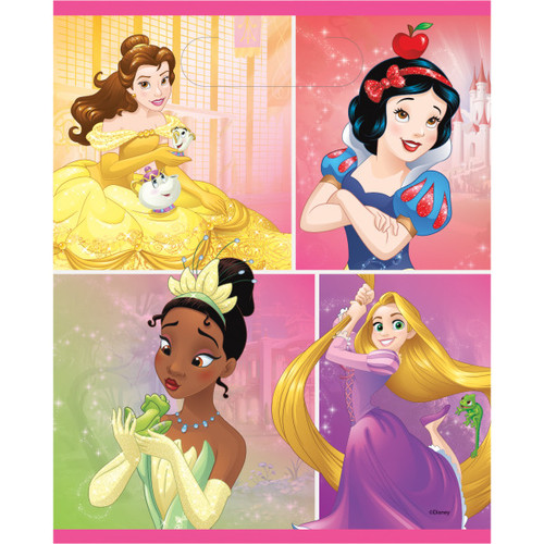Dream Big Princess 8 Ct Loot Goodie Bag Tiana Rapunzel Belle Snow White