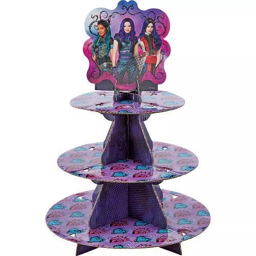 Decendants Treat Stand 24 Cupcake Holder Party Centerpiece Wilton