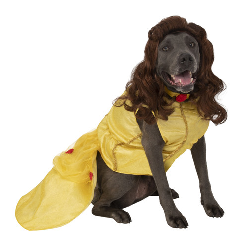 Belle Beauty and the Beast XXL Rubies Pet Shop Costume Large Dog 2X