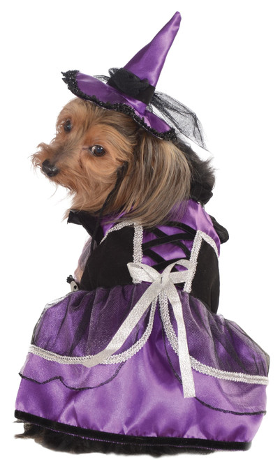 Purple Witch Small Dog Costume Rubies Pet Shop