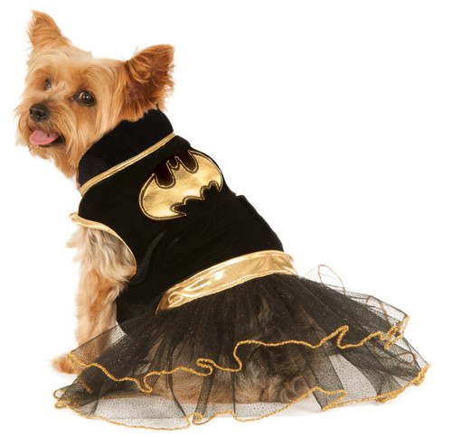 Batgirl Tutu Dress Large Dog Costume Rubies Pet Shop
