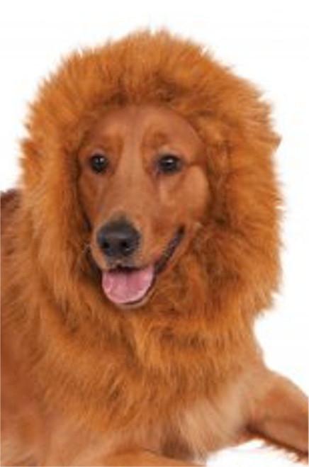 Deluxe Lion's Mane Adjustable Dog Pet Costume Rubies Pet Shop
