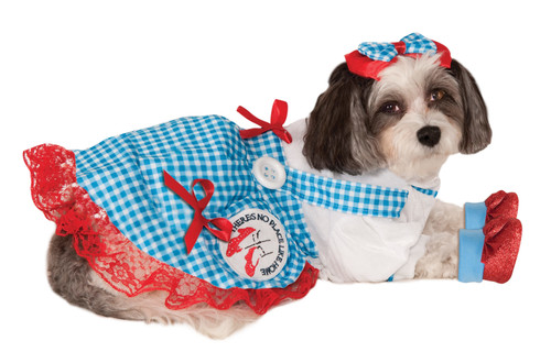 Dorothy Wizard Of Oz Small Dog Costume Rubies Pet Shop