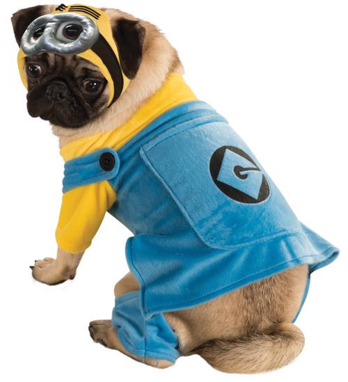Minions Despicable Me Medium Dog Costume Rubies Pet Shop