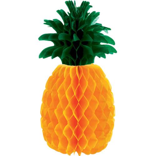Honeycomb Pineapple 12 inch Summer Luau Centerpiece