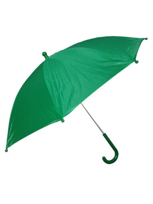 "Green St Patricks Day Second Line Parasol 16"" or Kids Umbrella"