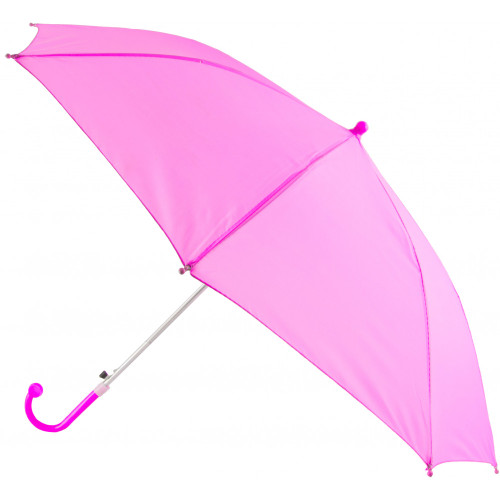 """Hot Pink Second Line Parasol 16"""" or Kids Umbrella Automatic Open"""