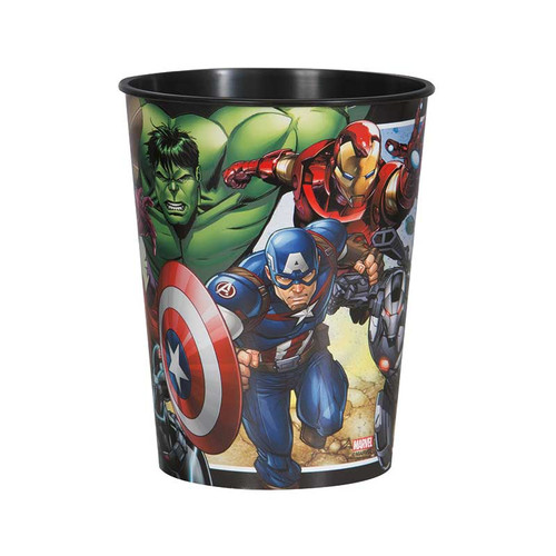 Avengers Plastic 16 oz Favor Cup